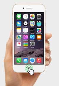 iPhoneのホームボタンの機能