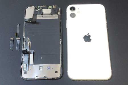 iphone11を自分で修理したが画面が映らなく真っ黒になった!