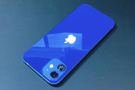 うっかりおとしてiPhone12のリアカメラレンズがひび割れた!