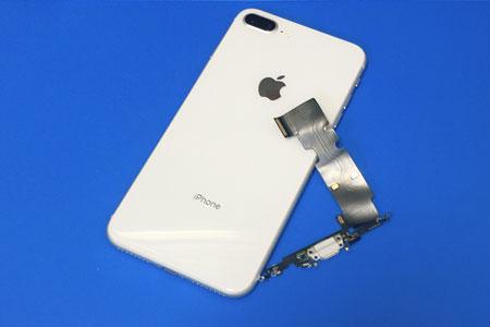 iPhoneの充電できない、充電されない故障は充電差し口の修理で改善します!