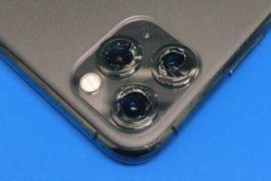 iPhoneのリアカメラのlensが割れた、穴が開いたはアイフォンのカメラレンズ交換で解消!