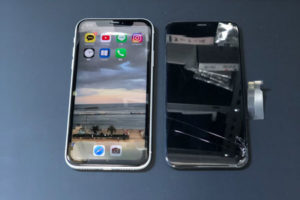 iPhoneXR画面修理を甲府市よりご依頼。内部データそのままで即日修理完了!