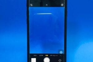iPhoneSE第2世代のリアカメラ交換は甲斐市からでも即日交換できます!映り込みもなく綺麗な仕上がり!