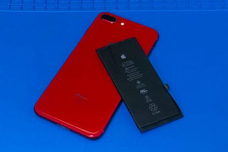 笛吹市よりiPhone8Plusのバッテリー交換のご依頼!アイフォン8プラスの充電の減りが早くなってもまだまだ修理できます!